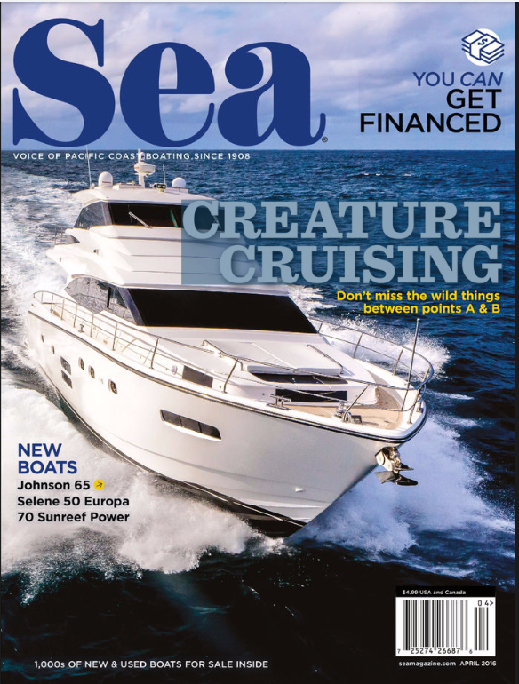 Sea Magazine Cover - April 2016